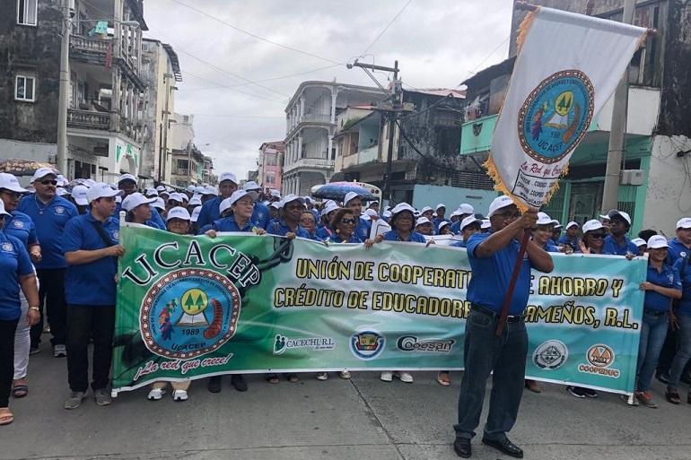 Líderes de UCACEP en CODICO-COLÓN 2019